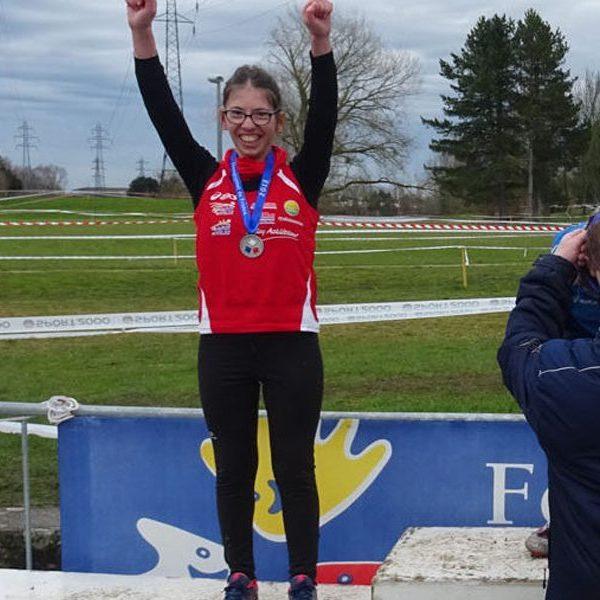 Chloé, vice championne de France de Cross Country sport adapté