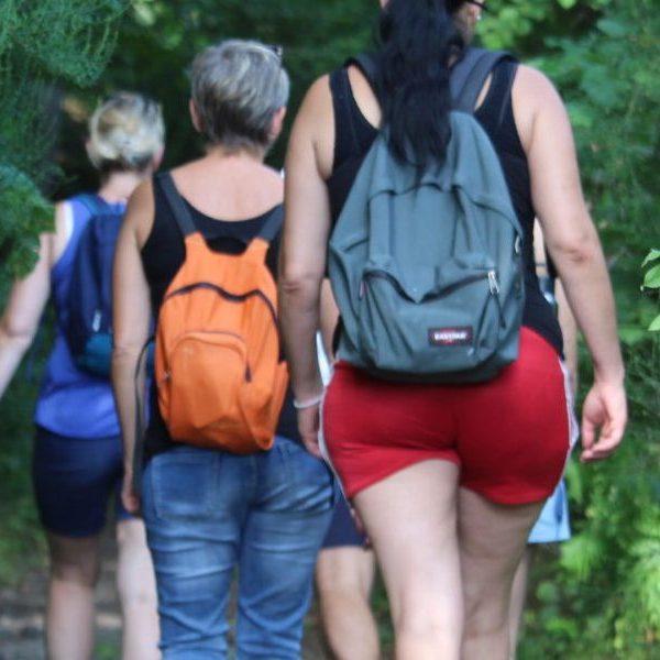 Une randonnée à Volvic avec les bénéficiaires du DAHLIR Insertion