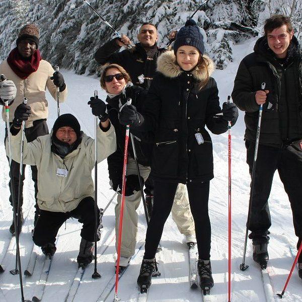 Une sortie en altitude pour les bénéficiaires du Dahlir Insertion