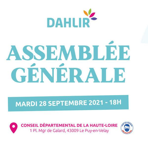 Agenda : L'Assemblée Générale du DAHLIR