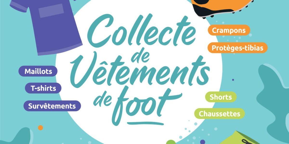 Collecte de vêtements et accessoires de Football en Haute-Loire