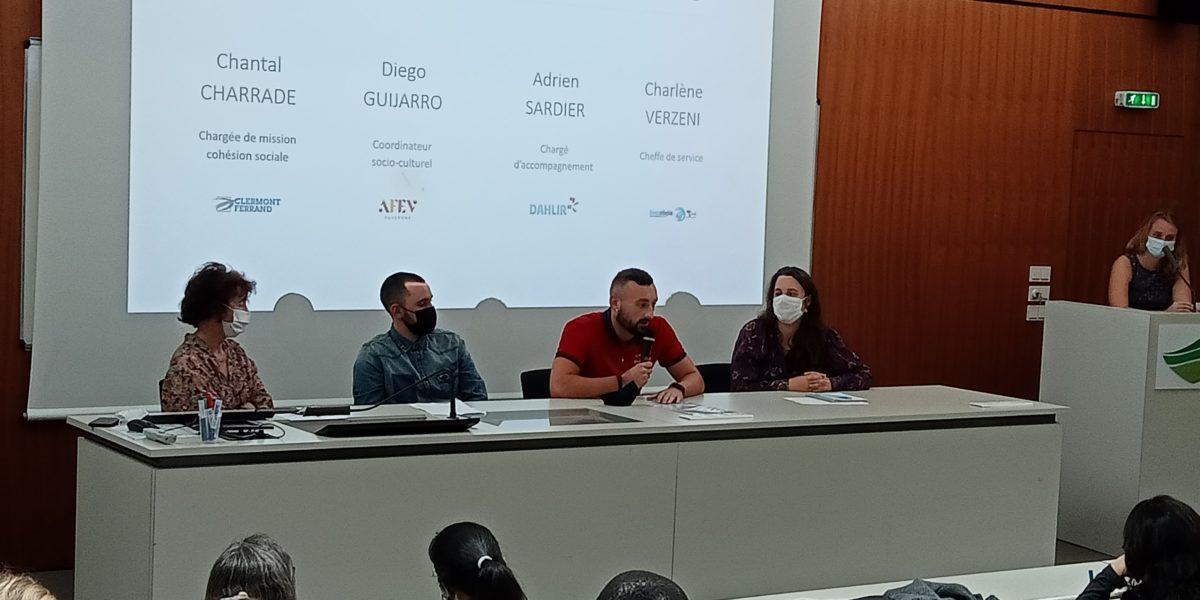 Table ronde sur les actions inclusives pour les jeunes réfugiés à Clermont-Ferrand