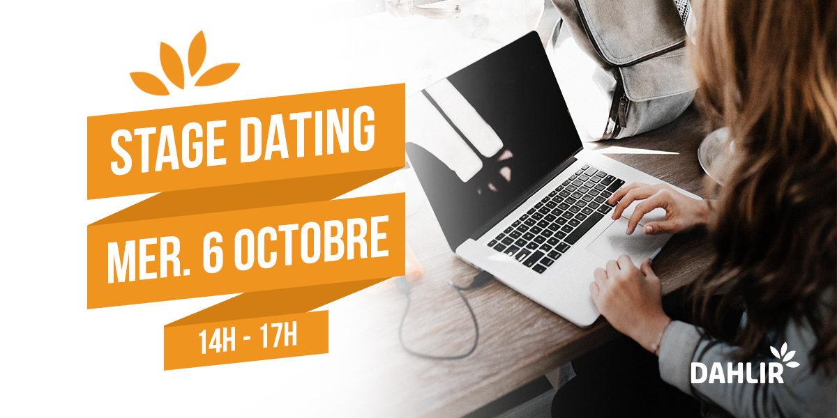 Participez au premier Stage Dating du DAHLIR